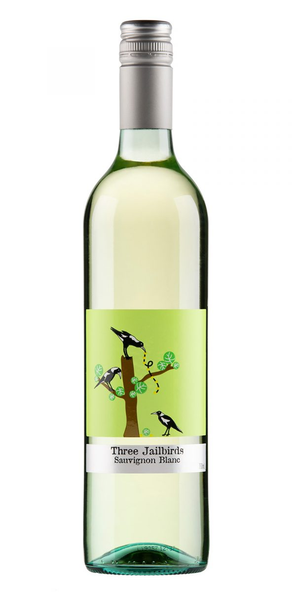 2020 Three Jailbirds South Eastern Australia Sauvignon Blanc -