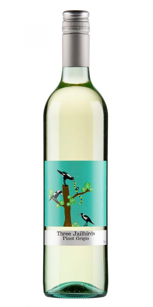 2020 Three Jailbirds South Eastern Australia Pinot Grigio -