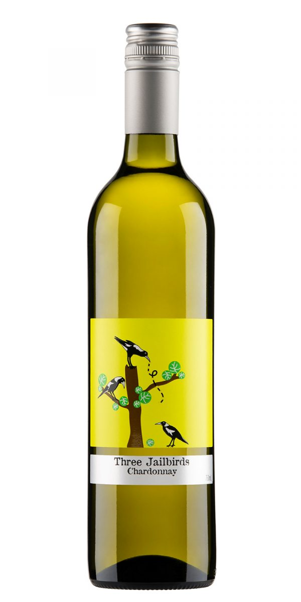 2019 Three Jailbirds South Eastern Australia Chardonnay -