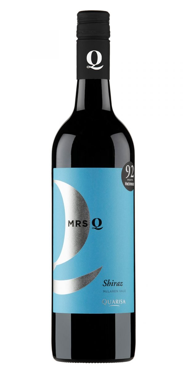 2016 Mrs Q Q Series McLaren Vale Shiraz -