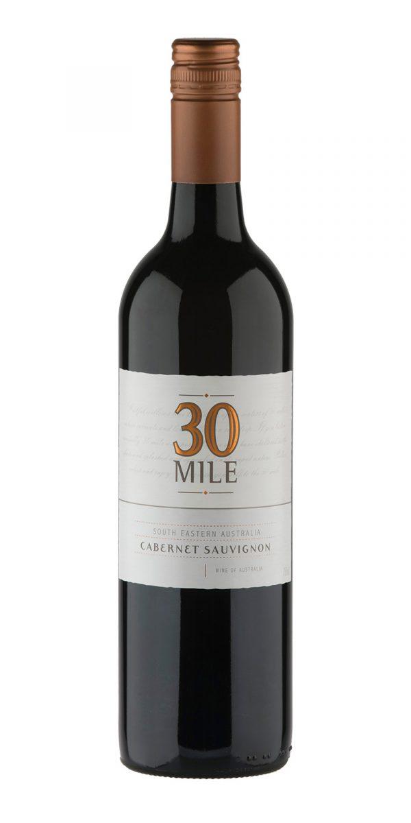 2018 30 Mile South Eastern Australia Cabernet Sauvignon -